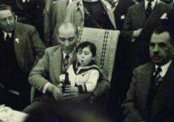 Atatürk Küçük Çocuğa Bira Mı İçirdi?